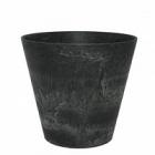 Кашпо Artstone claire pot black, чёрного цвета Диаметр — 17 см