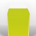 Светящееся Кашпо Bloom! Holland square lime Длина — 40 см