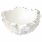 Кашпо Fleur Ami Shell mother of pearl white, белого цвета  Диаметр — 70 см