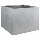 Кашпо Fleur Ami Square grey, серого цвета Длина — 86 см