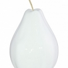 Груша декоративная Fleur Ami Pear white, белого цвета  Диаметр — 36 см