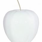 Яблоко декоративное Fleur Ami Apple white, белого цвета  Диаметр — 38 см