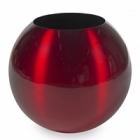 Кашпо Plants First Choice Aluminium planter sparkling red, красного цвета  Диаметр — 49 см