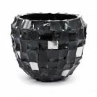 Кашпо Plants First Choice Boxer black, чёрного цвета round  Диаметр — 120 см