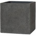Кашпо Pottery Pots Eco-line block L размер laterite grey, серого цвета Длина — 50 см