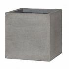Кашпо Pottery Pots Eco-line block m, brushed cement Длина — 40 см