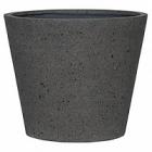 Кашпо Pottery Pots Eco-line bucket l, laterite grey, серого цвета  Диаметр — 58 см