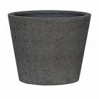 Кашпо Pottery Pots Eco-line bucket m, laterite grey, серого цвета  Диаметр — 50 см