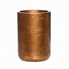 Кашпо Pottery Pots Eco-line carlyn metalic copper  Диаметр — 12 см