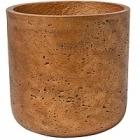 Кашпо Pottery Pots Eco-line charlie M размер metalic copper  Диаметр — 18 см