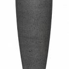 Кашпо Pottery Pots Eco-line dax xl, laterite grey, серого цвета  Диаметр — 47 см