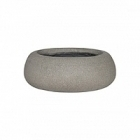 Кашпо Pottery Pots Eco-line eileen xl, brushed cement  Диаметр — 36 см