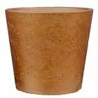 Кашпо Pottery Pots Eco-line mini bucket M размер metallic copper  Диаметр — 16 см