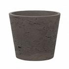 Кашпо Pottery Pots Eco-line mini bucket S размер chocolat  Диаметр — 14 см