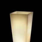 Светящееся Кашпо TeraPlast Pasubio Alto light outdoor 70 neutral Длина — 40 см