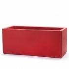 Кашпо TeraPlast Schio Cassa 120 cardinal red, красного цвета Длина — 115 см
