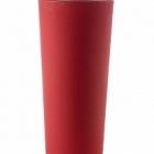Кашпо TeraPlast Schio Cono 145 cardinal red, красного цвета  Диаметр — 55 см