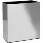 Кашпо Superline Alure trend aluminium brushed lacquered Длина — 66 см  Высота — 75 см