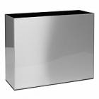 Кашпо Superline Alure trend aluminium brushed lacquered Длина — 90 см  Высота — 75 см