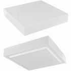 Подставка Fiberstone accessoires glossy white, белого цвета topper L размер (thick) Длина — 40 см  Высота — 8 см
