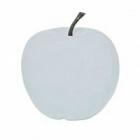 Яблоко декоративное Pottery Pots Apple glossy white, белого цвета L размер  Диаметр — 53 см Высота — 56 см
