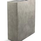 Кашпо D-lite high box m natural-concrete