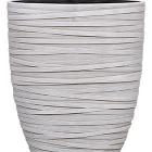 Кашпо Capi nature planter oval iii loop ivory
