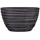 Кашпо Capi nature planter oval ii loop black