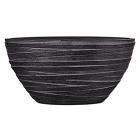 Кашпо Capi nature planter oval i loop black
