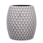 Кашпо Capi nature vase elegant wide i wave ivory
