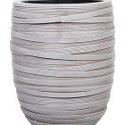 Кашпо Capi nature vase elegant high i loop ivory