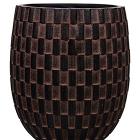 Кашпо Capi nature vase elegant high ii wave brown