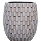 Кашпо Capi nature vase elegant high i wave ivory