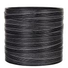 Кашпо Capi nature vase cylinder ii loop black
