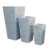 Basic Conic Vase, серый