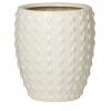 Кашпо Laos Mini, керамика, слоновая кость