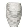 Кашпо Capi Nature Vase Elegant Deluxe Row, Ivory