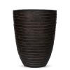 Кашпо Capi Nature Vase Elegant Low Row, brown