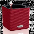 Кашпо Lechuza Cube Color, красный
