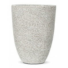 Кашпо Capi Nature brix vase elegant ivory, слоновая кость