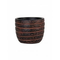 Кашпо Capi Nature row egg planter 3-й размер brown, коричневый