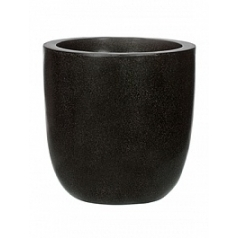 Кашпо Capi Lux egg planter 3-й размер black, чёрный
