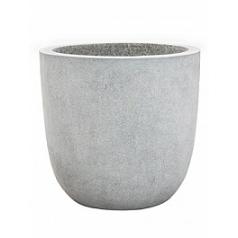 Кашпо Capi Lux egg planter 4-й размер light grey, серый, светло-серый