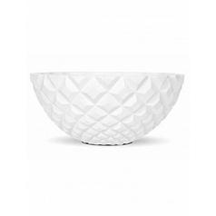 Кашпо Capi Lux heraldry bowl 1-й размер white, белый