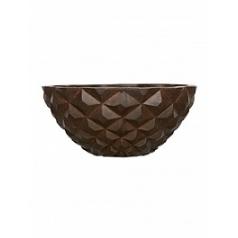 Кашпо Capi Lux heraldry bowl 2-й размер rust