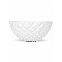 Кашпо Capi Lux heraldry bowl 2-й размер white, белый