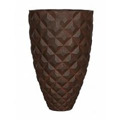 Кашпо Capi Lux heraldry vase elegant 1-й размер rust