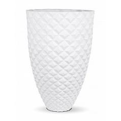 Кашпо Capi Lux heraldry vase elegant 1-й размер white, белый