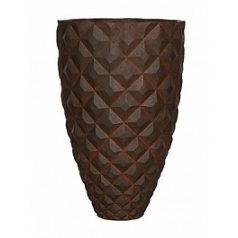 Кашпо Capi Lux heraldry vase elegant 2-й размер rust