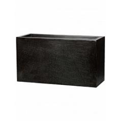 Кашпо Capi Lux middle envelope 1-й размер black, чёрный